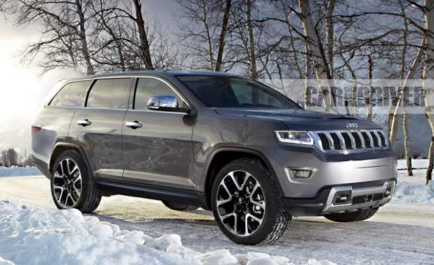 Jeep Cherokee Third Row >> 2019 Jeep Grand Wagoneer Concept, Spy Photos and Release Date - 2019 and 2020 New SUV Models