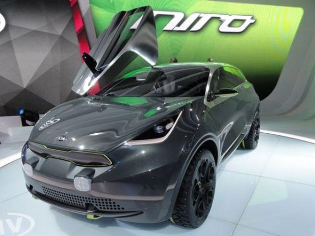 2019 Kia Niro ALL Electric SUV front