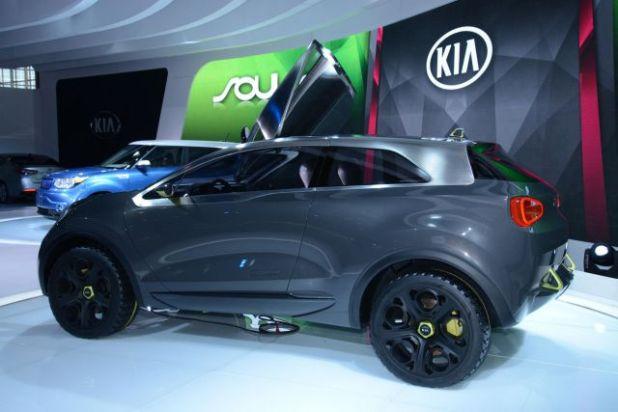 2019 Kia Niro ALL Electric SUV side