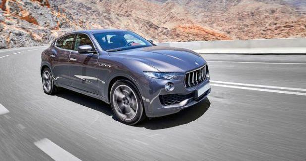 2019 Maserati Levante front