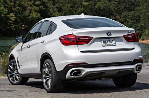 2019 Bmw X6 rear view