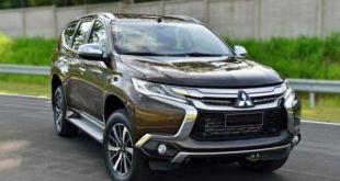 2018 Mitsubishi Pajero front