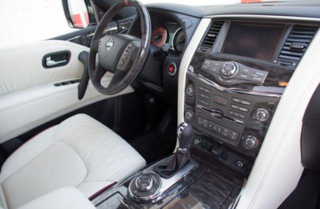 2018 Nissan Patrol interior - 2019 and 2020 New SUV Models