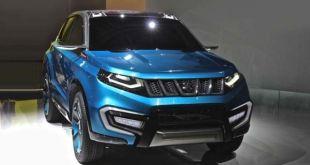 2018 Suzuki Grand Vitara front