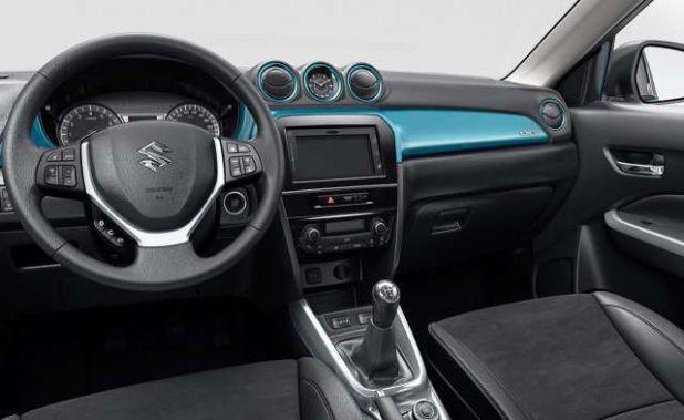 2018 Suzuki Grand Vitara interior