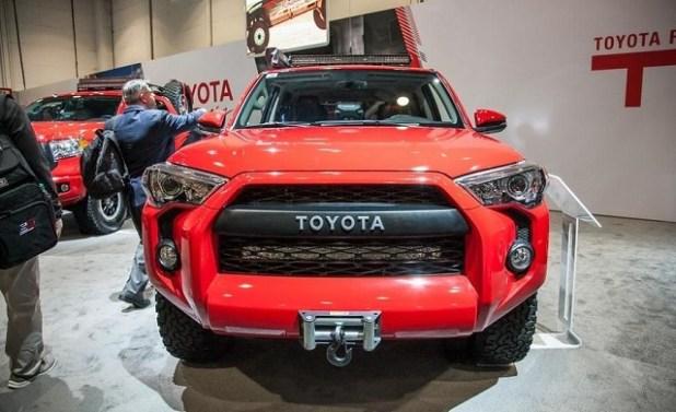 2018 Toyota 4Runner TRD Pro front