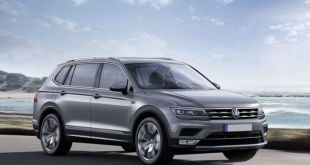2018 VW Tiguan Allspace front