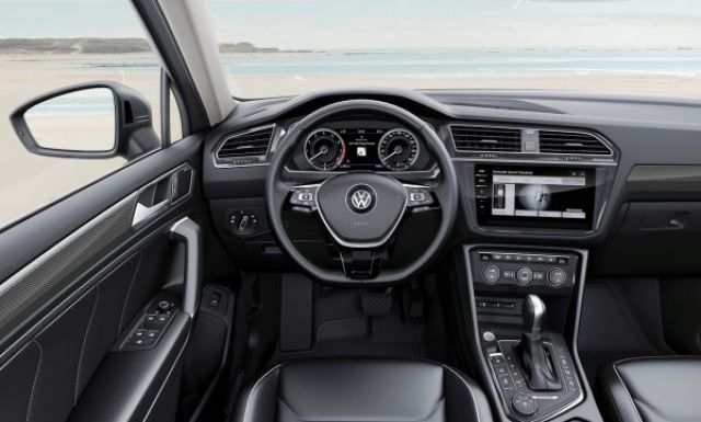 2018 VW Tiguan Allspace interior - 2019 and 2020 New SUV Models