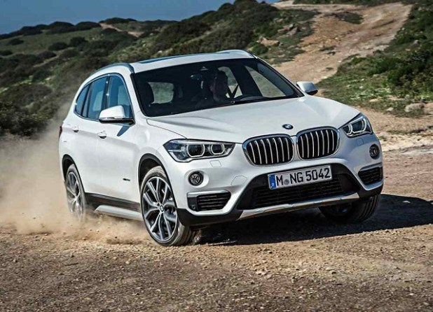 2019 BMW X1 front view