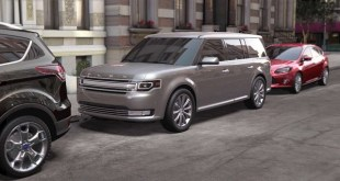 2019 Ford Flex side view