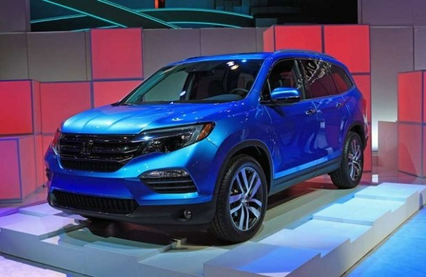honda pilot hybrid review     suv models