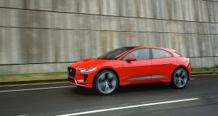 2019 Jaguar I-Pace EV side view