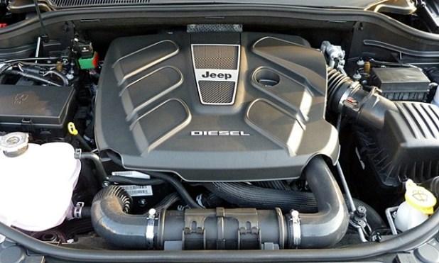 2019 Jeep Wrangler diesel engine