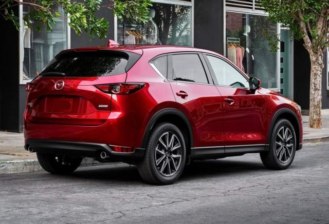 2019 Mazda CX-5 rear - 2019 and 2020 New SUV Models