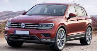 2019 VW Tiguan front