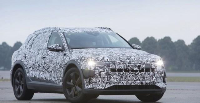 2019 Audi e-tron Quattro electric SUV - 2019 and 2020 New ...