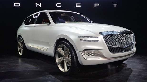 2019 Genesis GV80 SUV front view