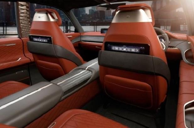 2019 Genesis GV80 SUV interior