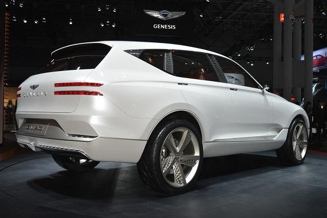 2019 genesis gv suv rear view - 2019 and 2020 New SUV Models