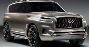 2019 infiniti qx80 front view