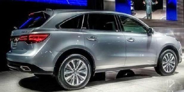 2018 Acura MDX Hybrid side view