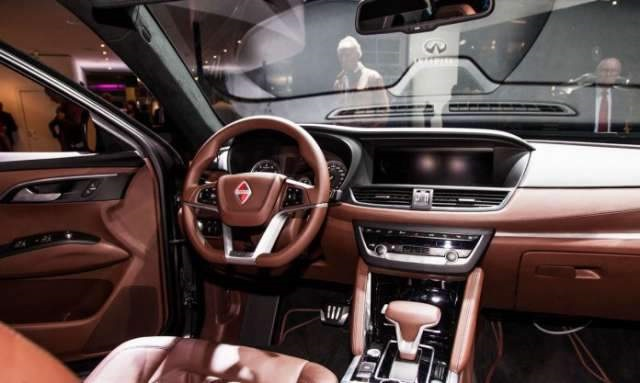 2018 Borgward BX7 SUV interior - 2019 and 2020 New SUV Models