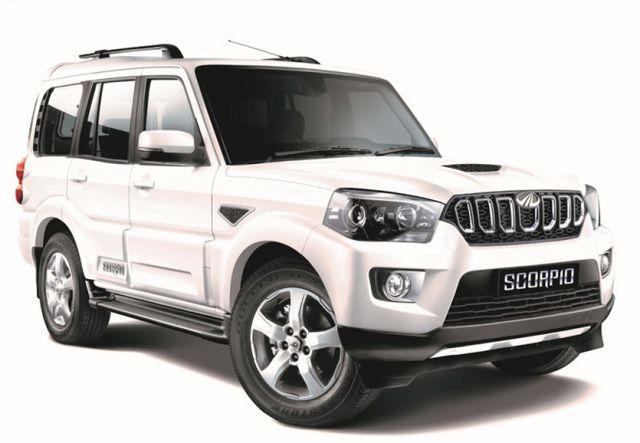 2018 Mahindra Scorpio front - 2019 and 2020 New SUV Models