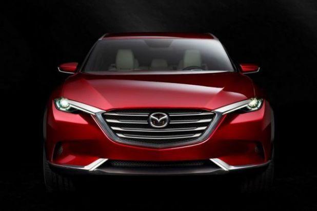 2018 Mazda CX-7 front