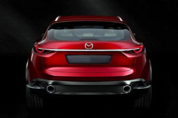 2018 Mazda CX-7 rear