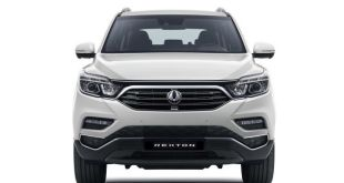 2018 Ssang Yong Rexton front