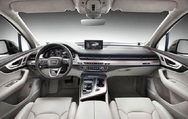 2019 Audi Q7 Interior 2019 And 2020 New Suv Models