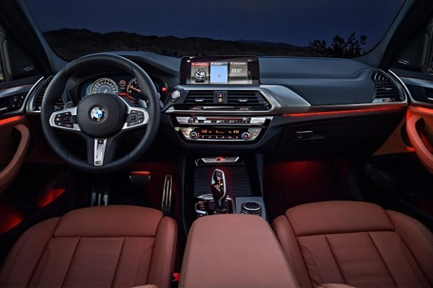 2019 BMW X3 eDrive interior