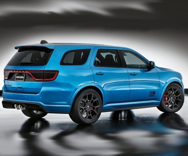 2019 Dodge Durango SRT rear view