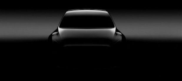 2019 Tesla Model Y front