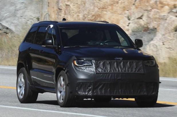 2019 jeep grand cherokee srt spy