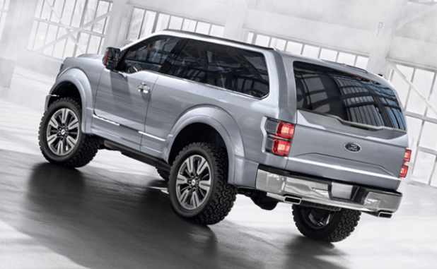 2020 Ford Bronco rear view