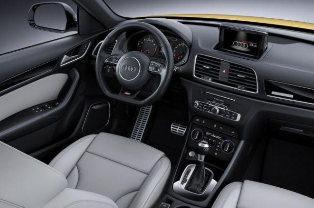 2018 Audi SQ3 interior