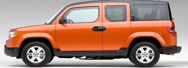 2018 honda element side view