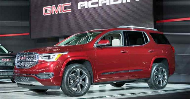 2019 GMC Acadia Denali, Diesel - 2019 and 2020 New SUV Models