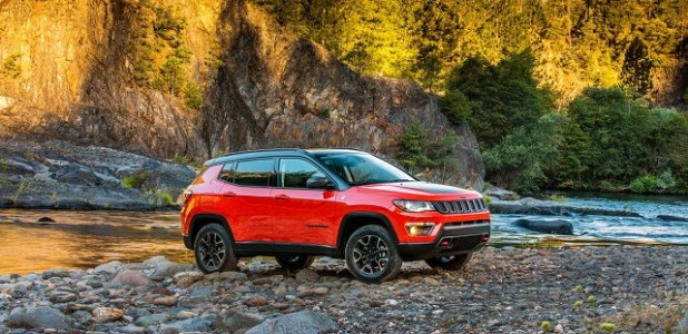 2019 Jeep Compass Trailhawk side view