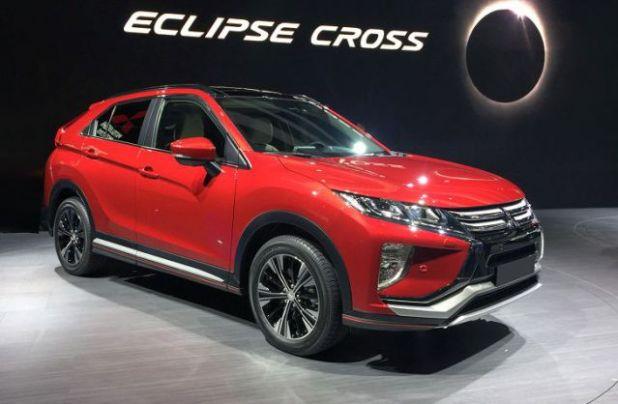 2019 Mitsubishi Eclipse Cross front