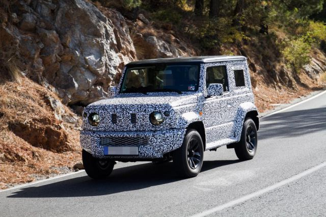2019 Suzuki Jimny Spied for the first time