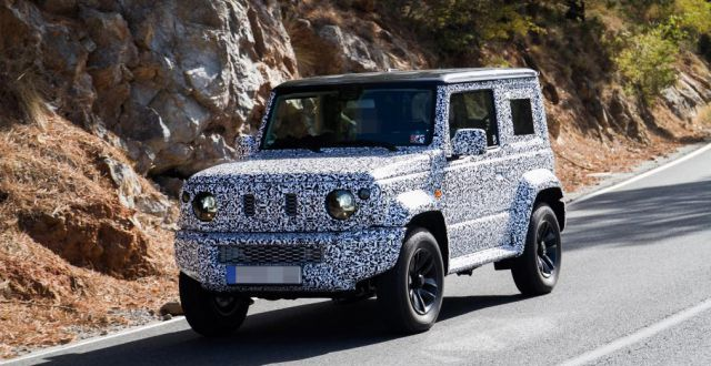 2020 Lincoln Nautilus Review, Price, Colors >> 2019 Suzuki Jimny Spied for the first time - 2019 and 2020 ...