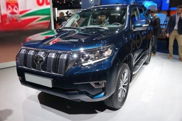 2019 Toyota Land Cruiser Prado front