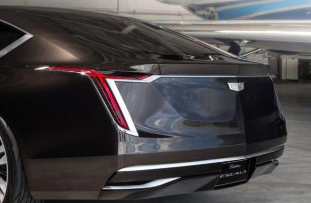 2020 Cadillac Escala rear