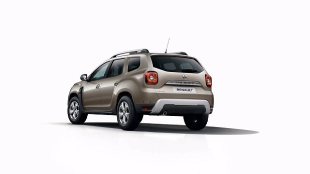 2018 Renault Duster rear view