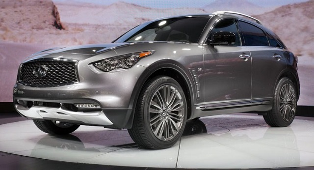 2019 Infiniti QX70 - 2020, 2021 and 2022 New SUV Models