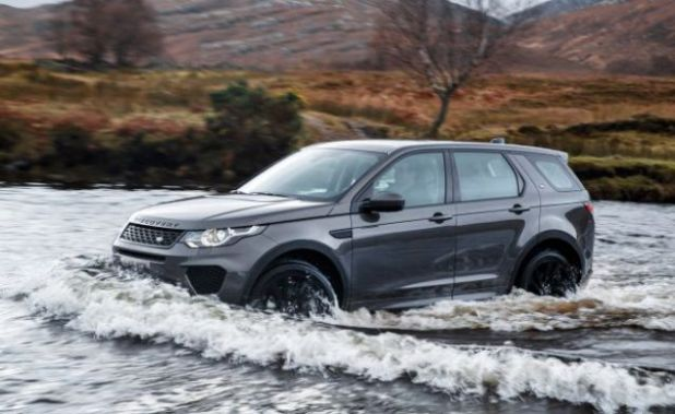 2019 Land Rover Discovery Sport side