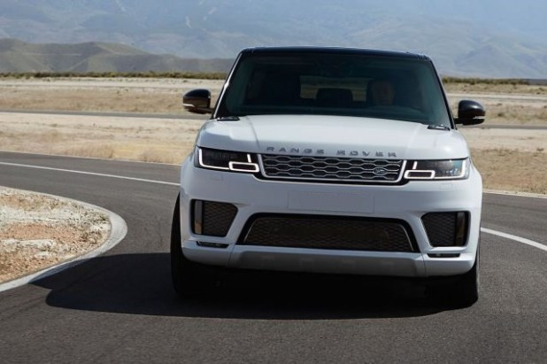 2019 Land Rover Range Rover Sport front