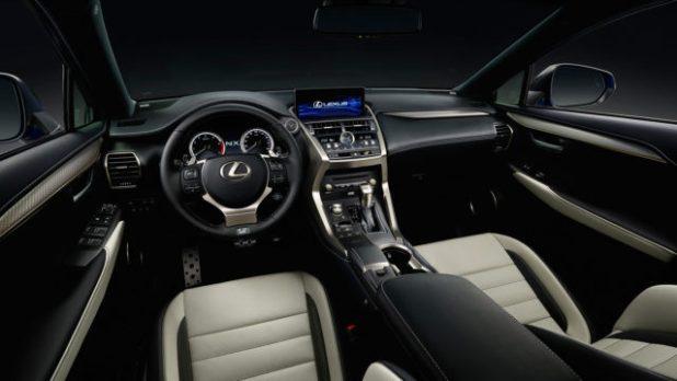 2019 Lexus NXinterior